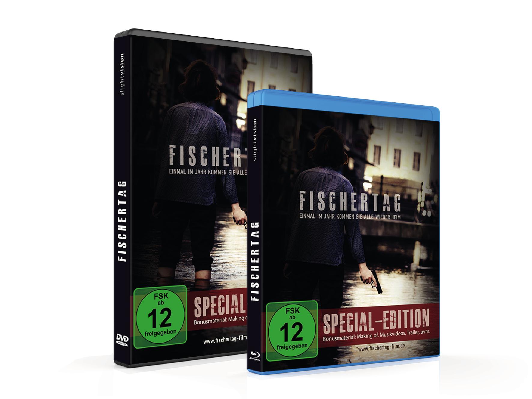 Fischertag Film - Special Edition auf BluRay und DVD